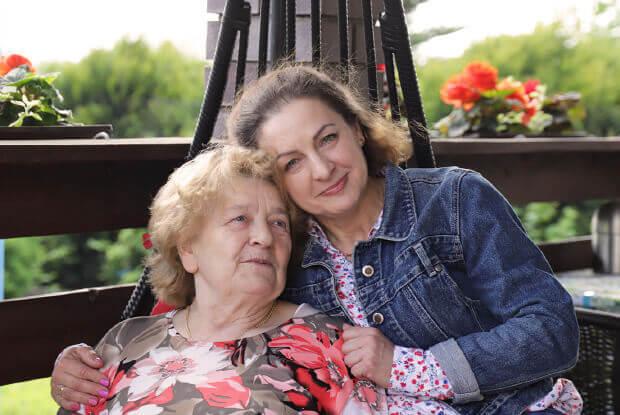 Pani Elżbieta z Mamą, Stok Lacki